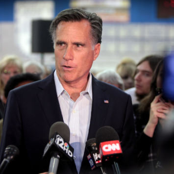 Rino Romney Claims Impeachment Is Not Divisive...