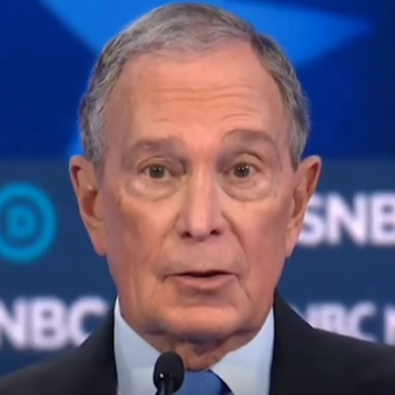 Bloomberg Points Out Who The Winner Of The Vegas Debate Really Was, And It's Not Warren