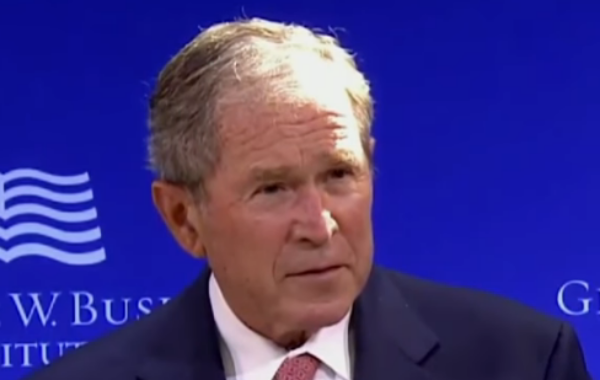 George W Bush Calls For Unity During This Pandemic