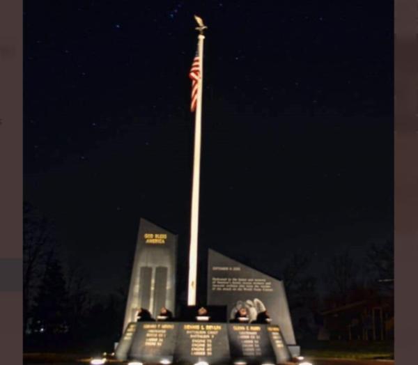Vandals Destroy Memorial For 9/11 Heroes