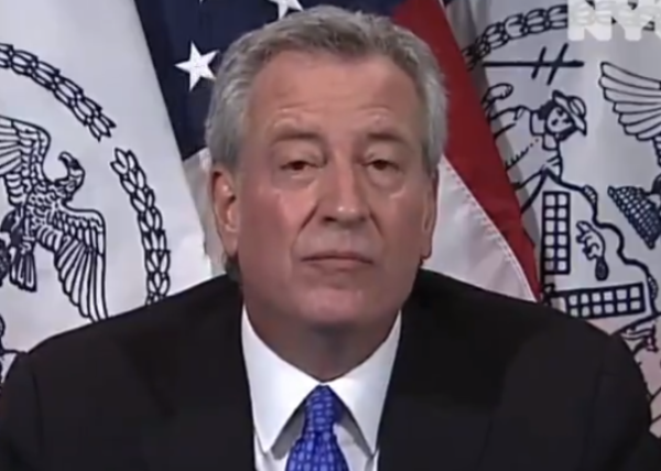 This Is What DeBlasio Gets For Buckling To Protesters