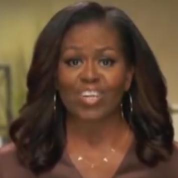 Michelle Obama Attacks Trump Supporters While Praising Biden