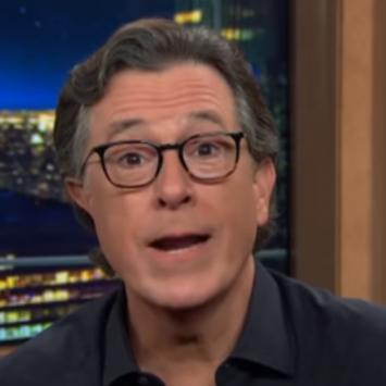 Colbert Loses It, Throwing A Tantrum On Air