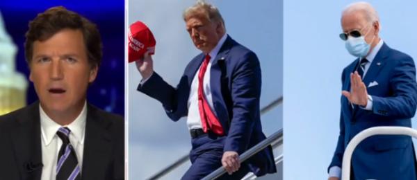 Tucker Carlson Calls Out Fox News For Having A Biden Bias