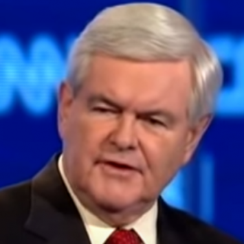 Newt Gingrich Claims Dems Were Right, Here's Who's Really In Charge Of This Circus