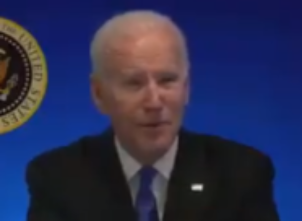 WH Cuts Biden's Feed After He Does This