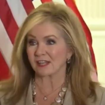 Sen Blackburn Tries To Fix Biden's Dangerous Mistake