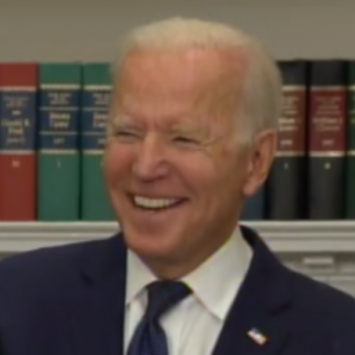 Look At What Biden Just Laughed At... He's Not Even Pretending To Care Anymore
